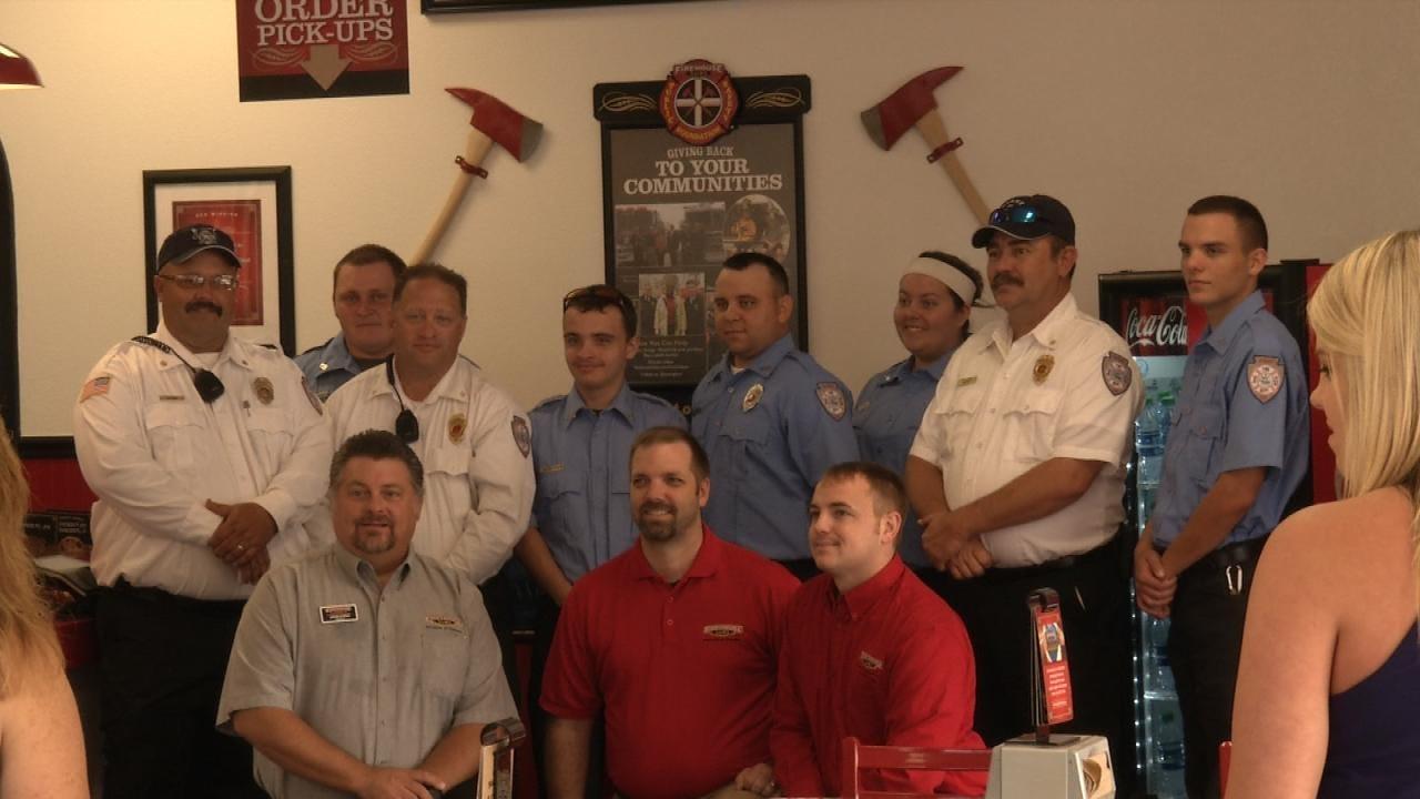Avant Volunteer Fire Department Gifted $20K In Radio Equipment