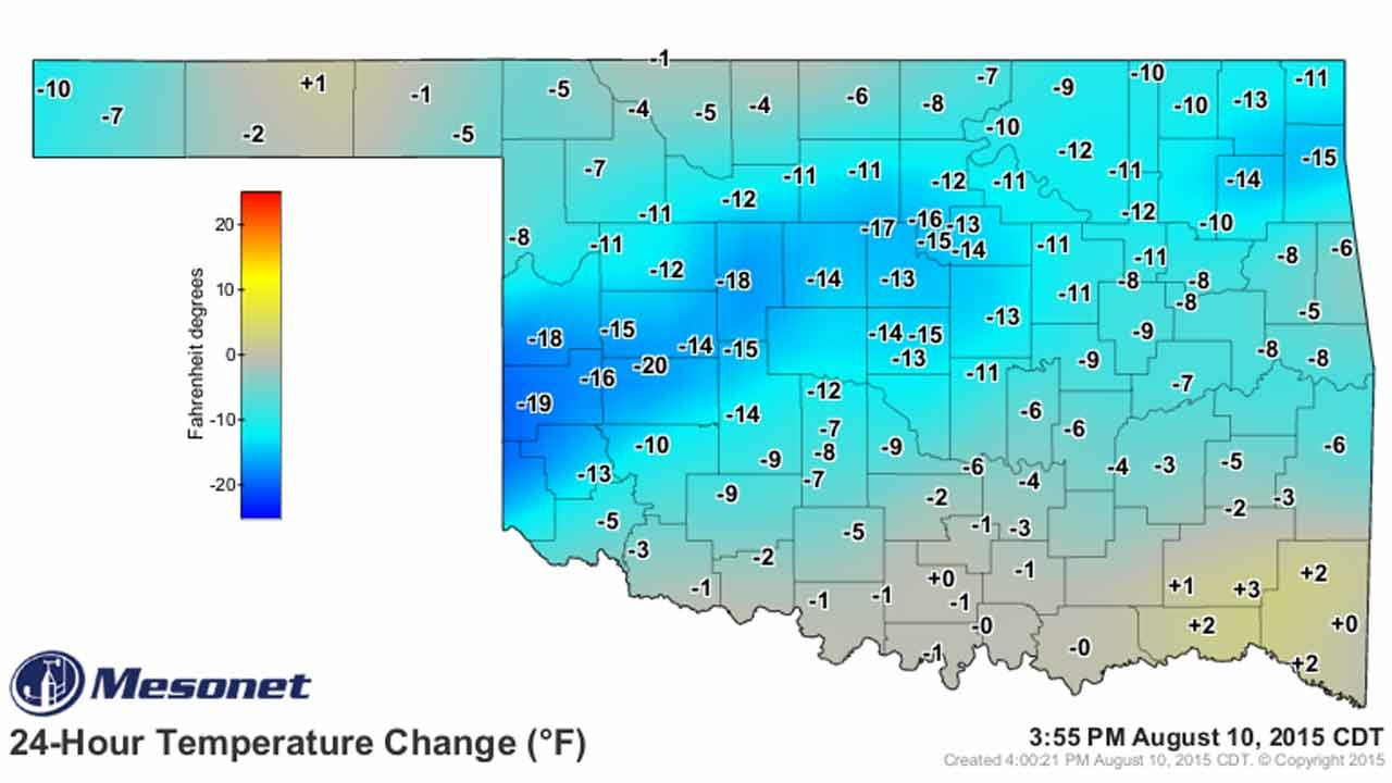 Dick Faurot's Weather Blog: Relief From The Heat
