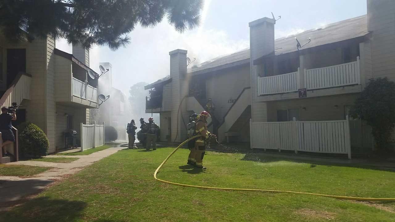 Tulsa Apartment Fire Blamed On Smoking