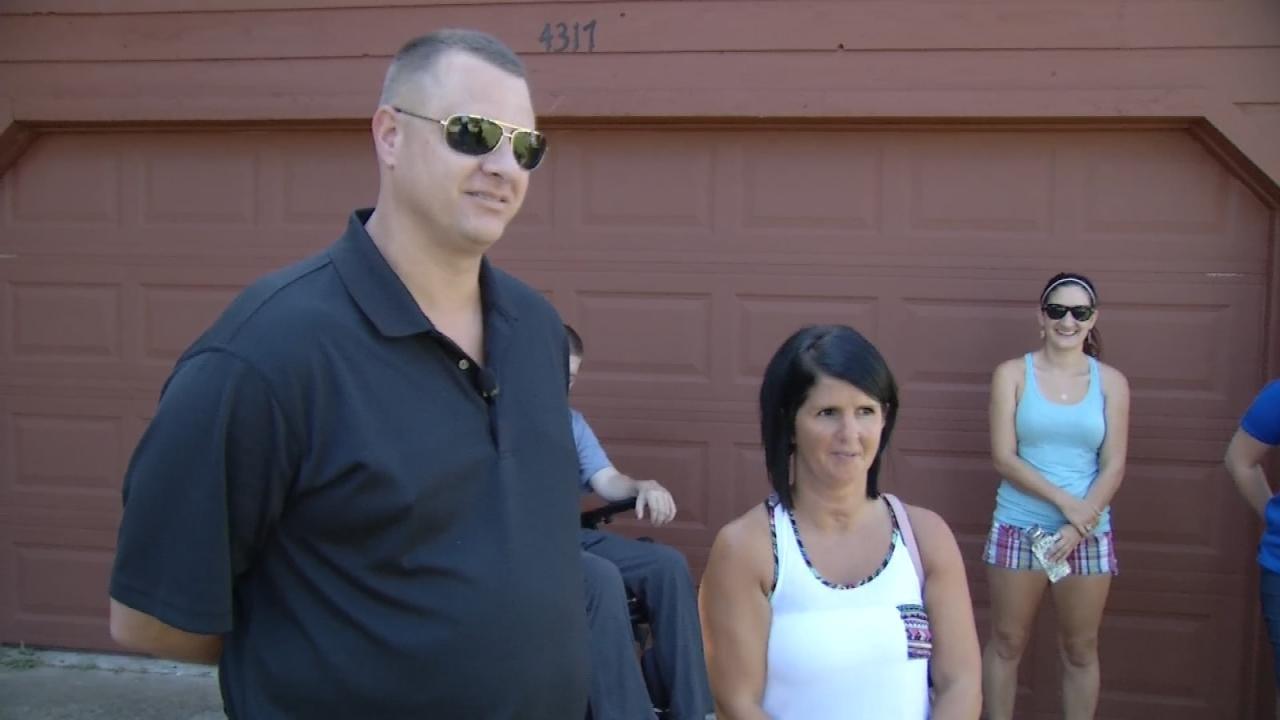 Army Veteran Given Mortgage-Free Broken Arrow Home