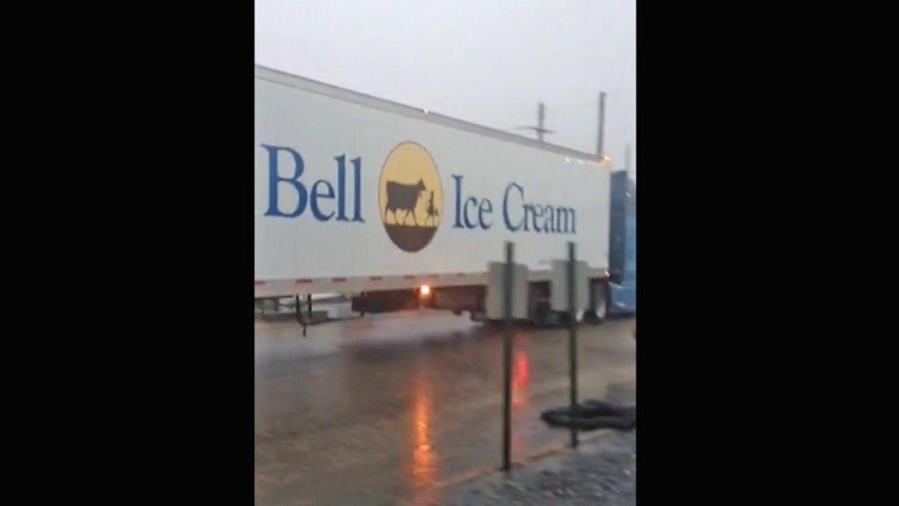 Oklahomans Rejoice As Blue Bell Trucks Return To The Road