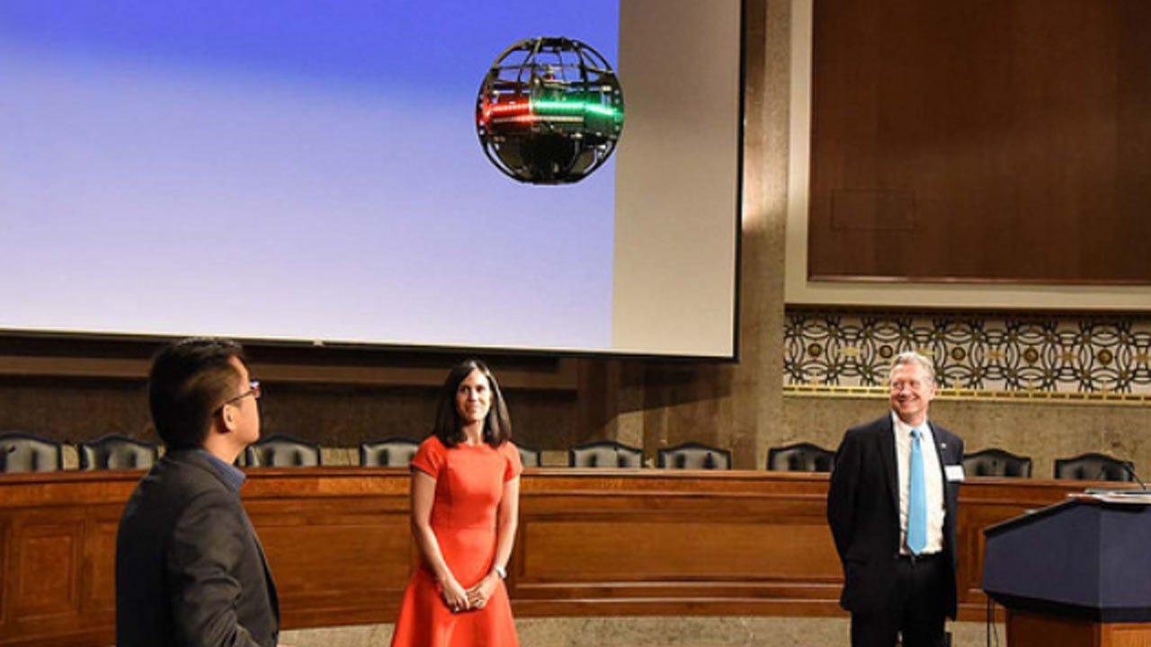 OSU-Affiliated Business Flies Drone In U.S. Senate Meeting