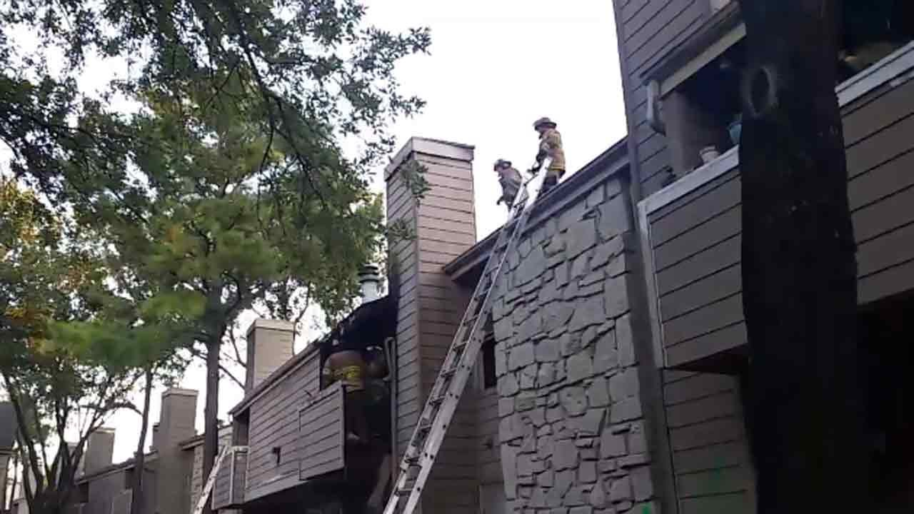 Several Units Damaged In Tulsa Apartment Fire