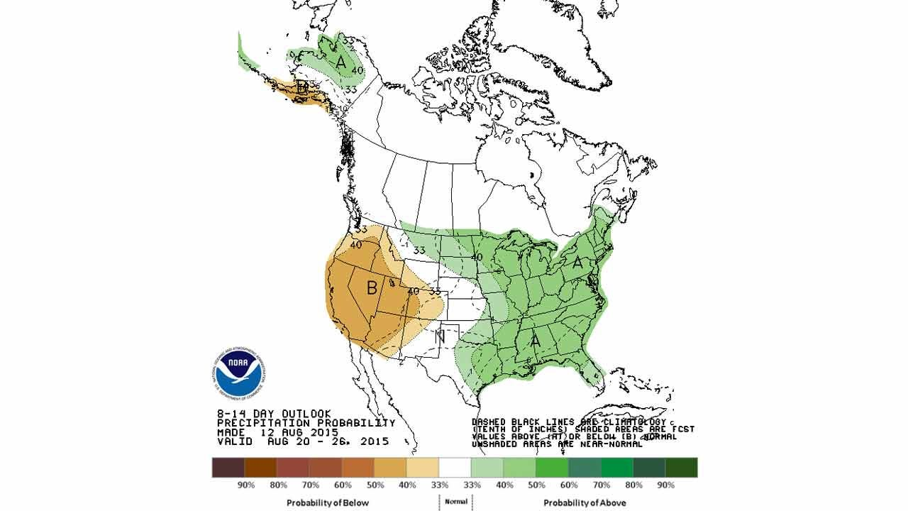 Dick Faurot's Weather Blog: Still Looking Good Next Few Days