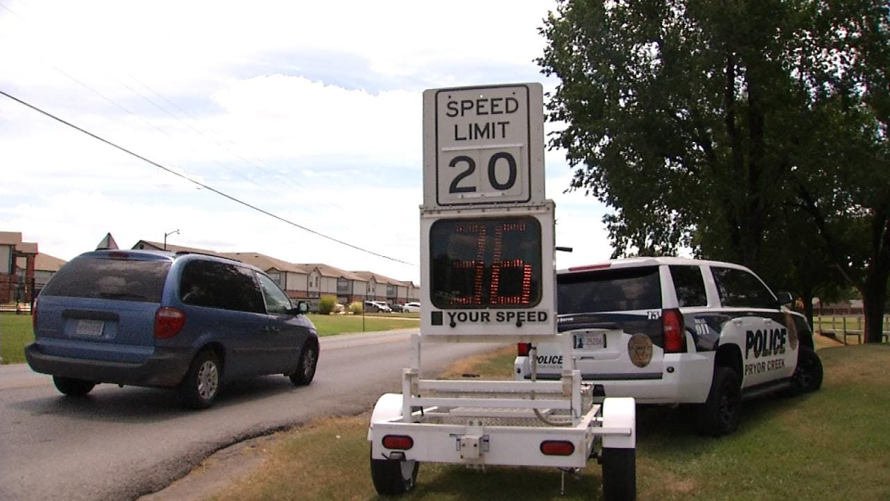 Pryor Police Remind Drivers Of Speed In School Zones