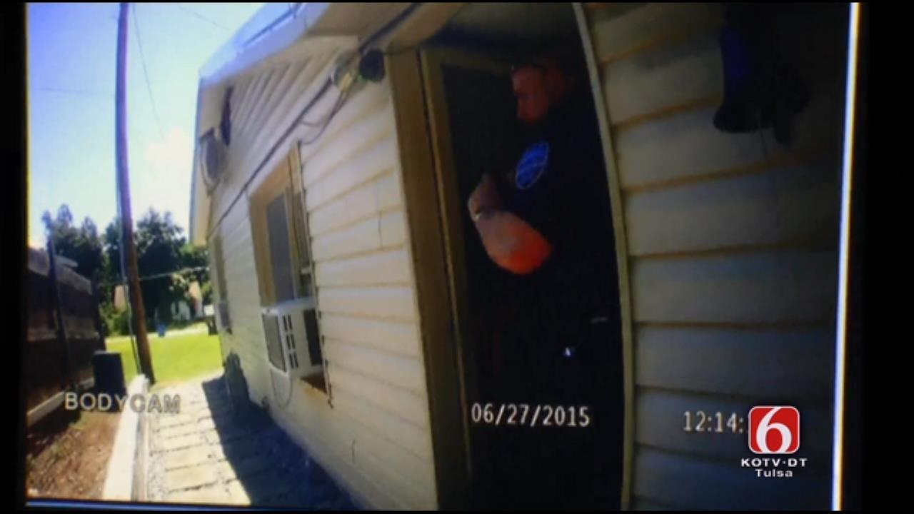 Tahlequah Police Officer Back On Duty After Fatal Shooting
