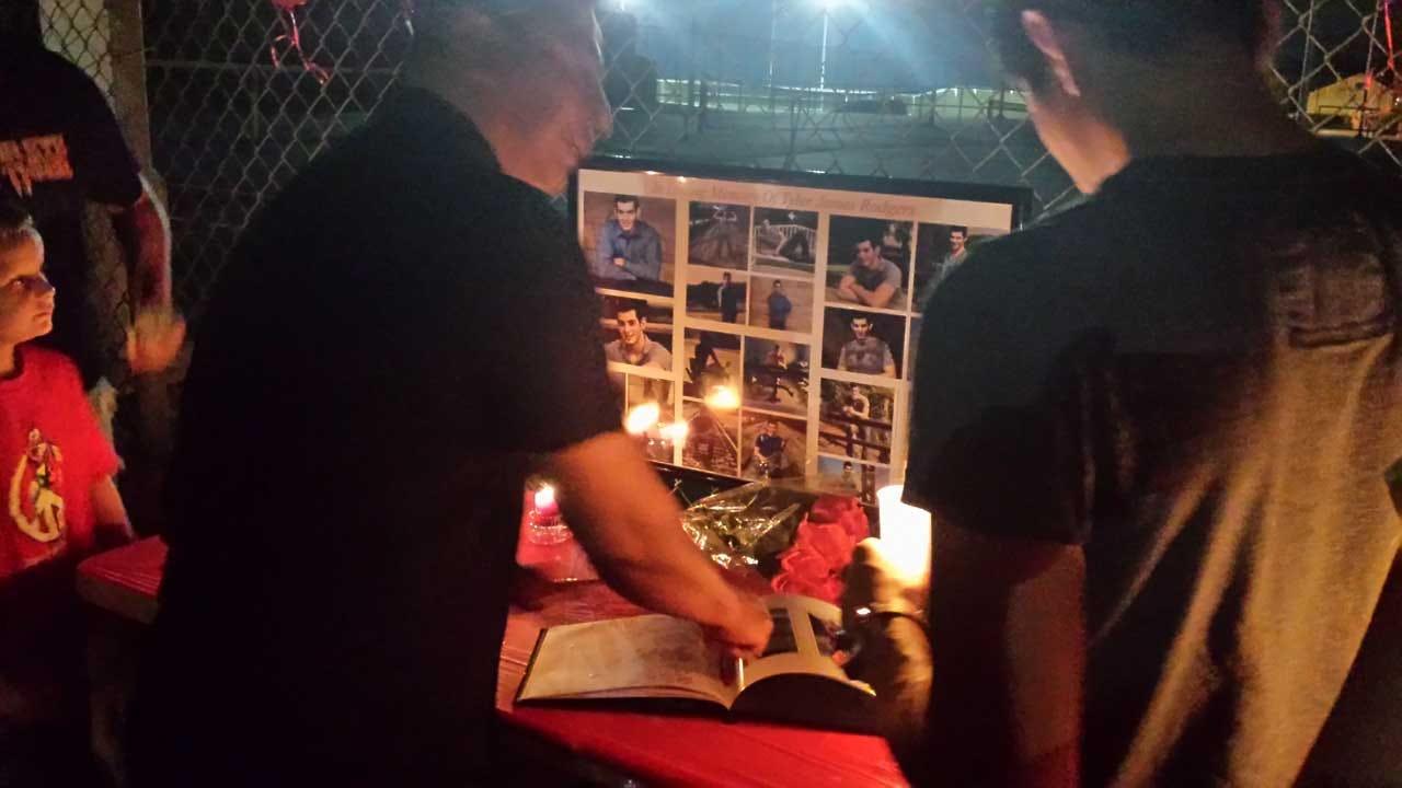 Vigil Held For Talala Teen Killed In Motorcycle Crash