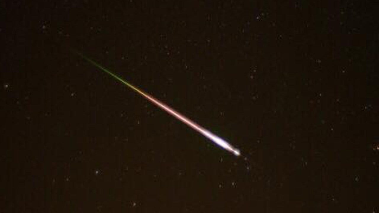 Oklahoma Woman Captures Spectacular Photo Of Perseid Meteor