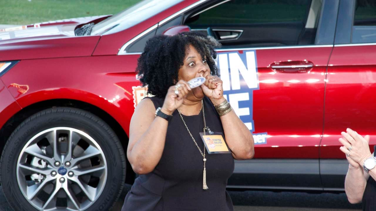 Retired Muskogee Educator Wins 2015 Ford Edge In Best Summer Ever Contest