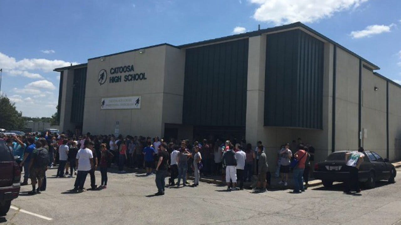 Water Leak Causes Problems At Catoosa High School