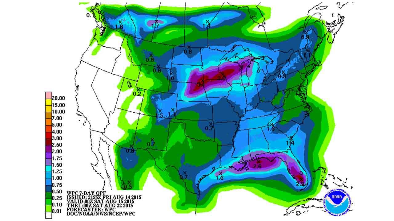 Dick Faurot's Weather Blog: Warming Up For The Weekend