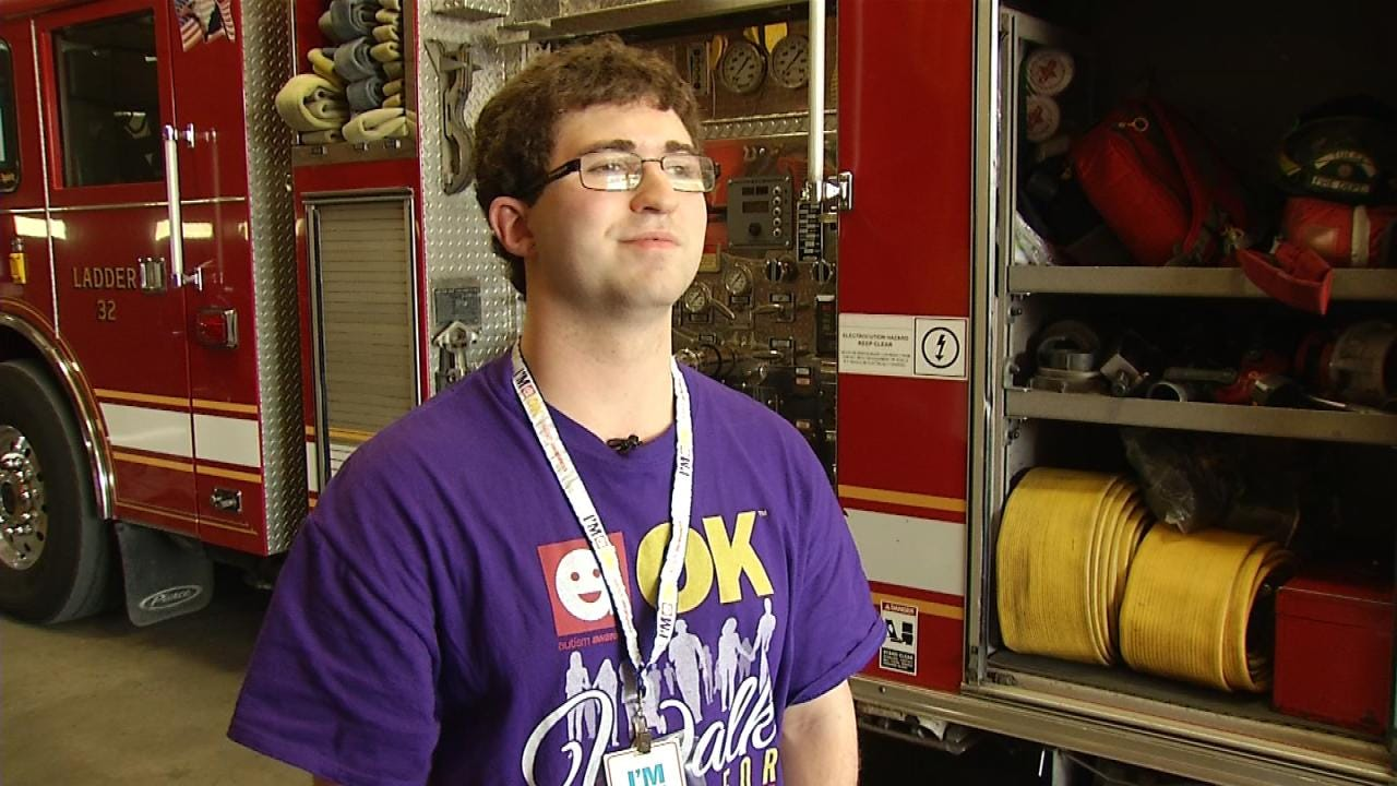 Tulsa Fire Department Doing Their Part To Raise Autism Awareness