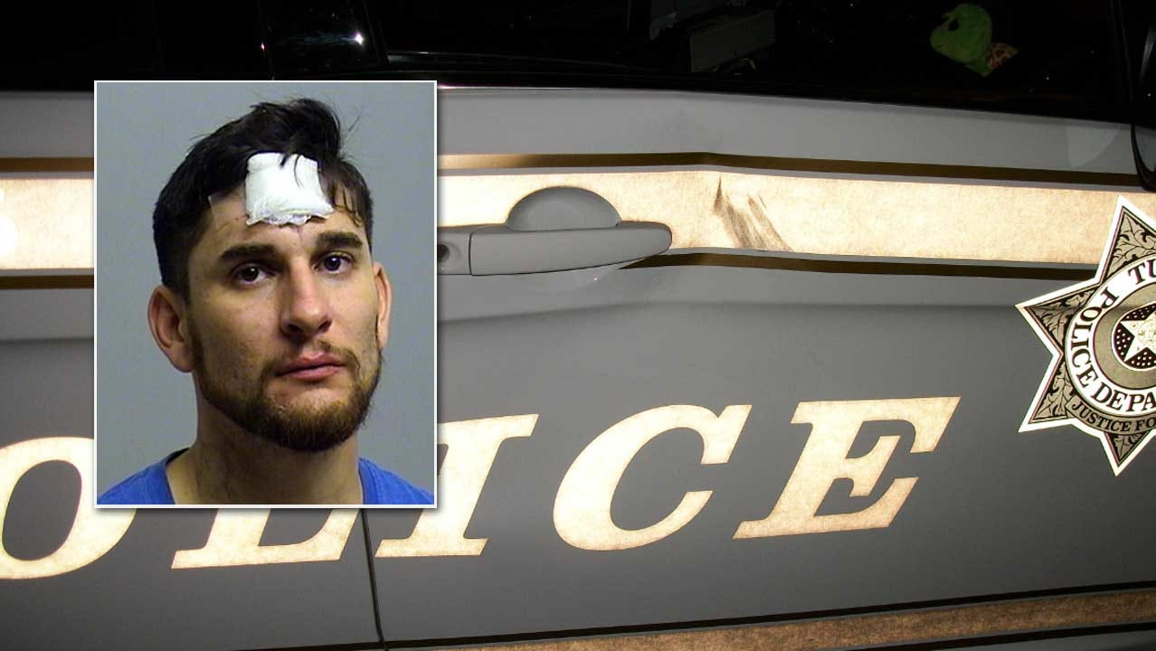 Tulsa Man Arrested For Kicking Police Car