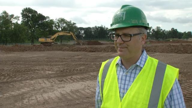 Tulsa's Gathering Place Drops Manhattan Construction, Hires Crossland