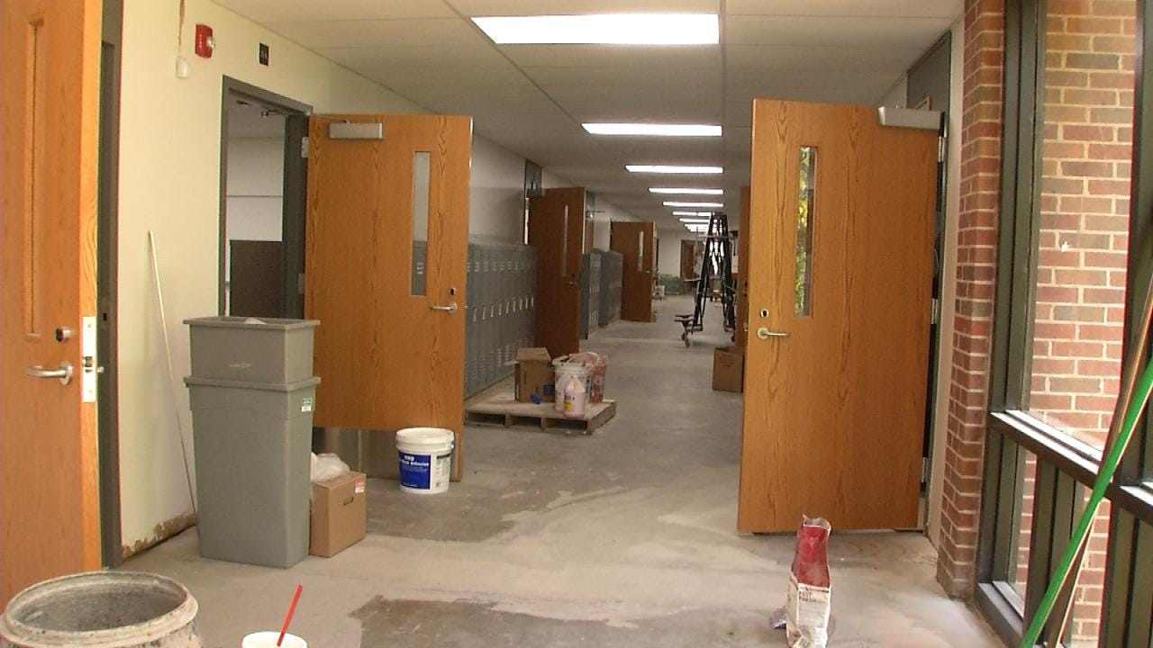 Construction Projects End As Tulsa Schools Begin