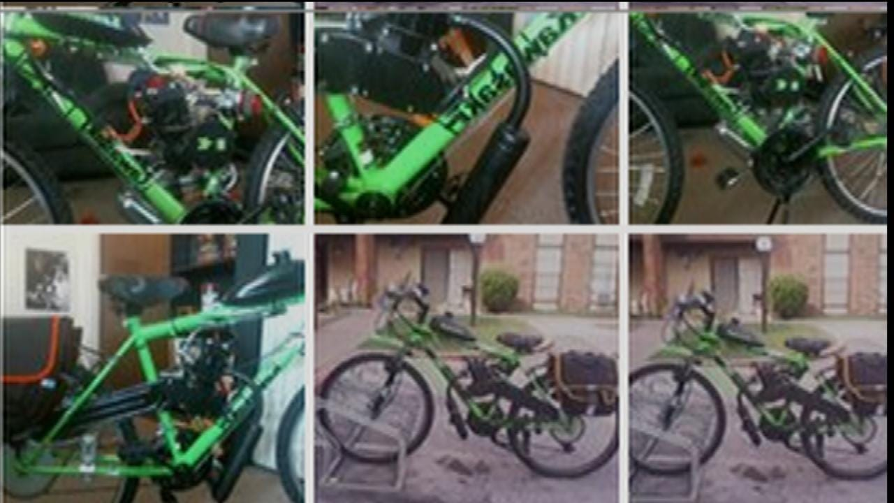Disabled Tulsa Man Says Bike Thieves Stole His Freedom