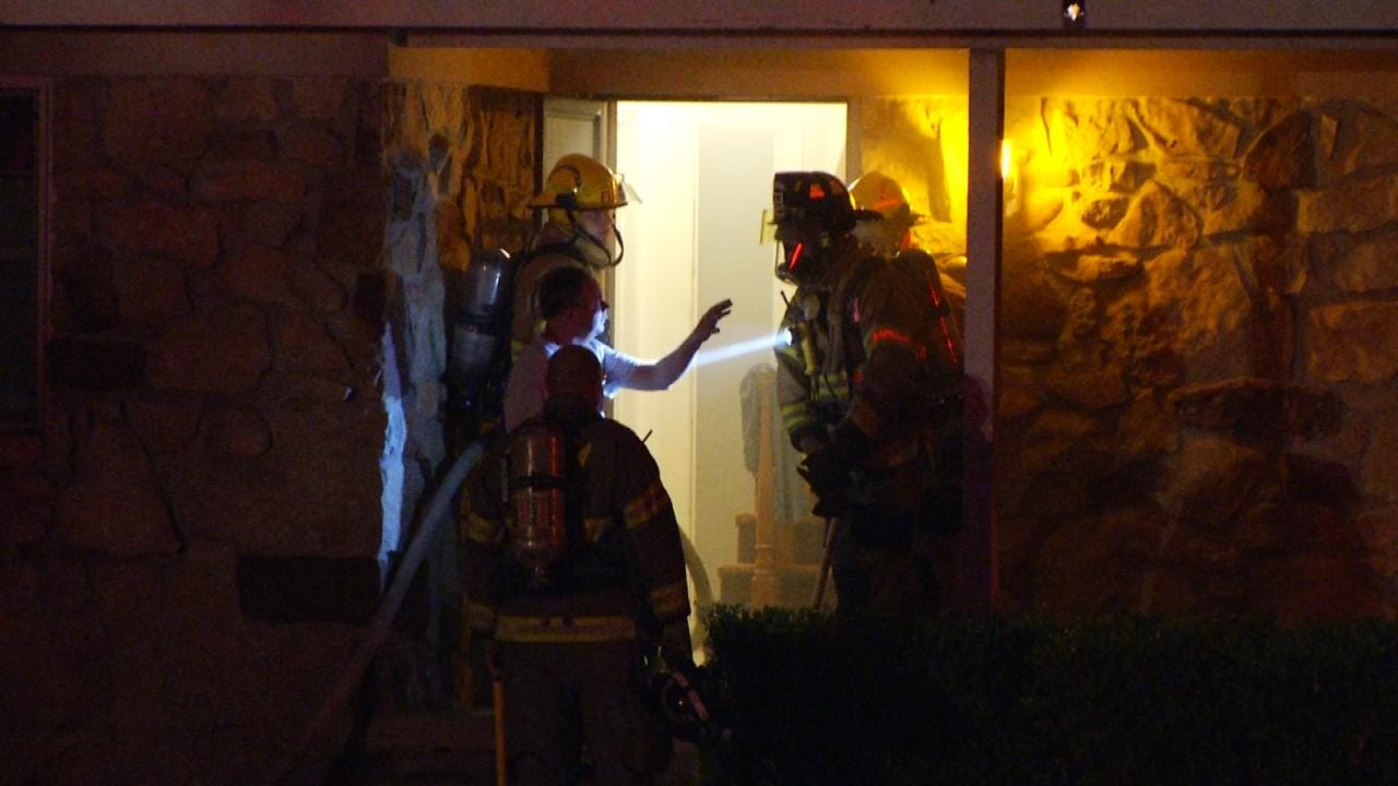 Fire Damages Catoosa Home
