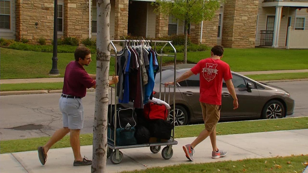 Move-In Days For University Of Tulsa Freshmen