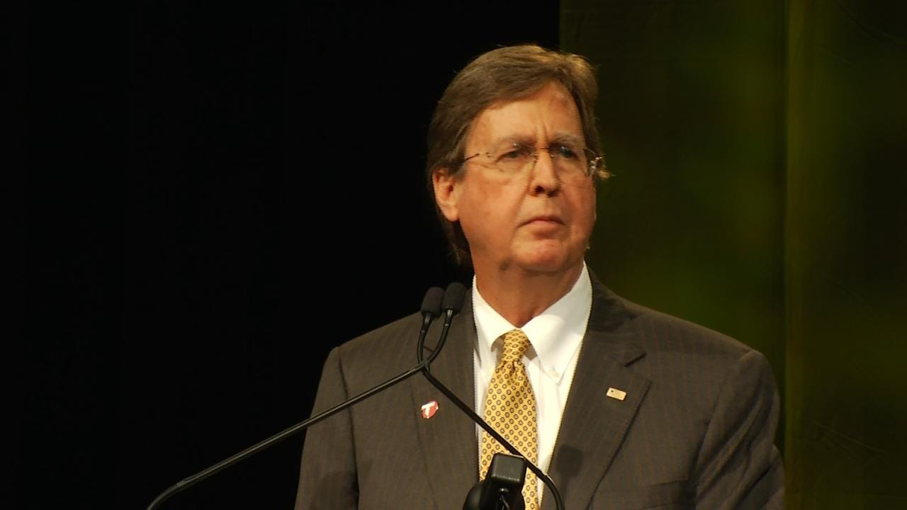 Mayor Dewey Bartlett Addresses State Of The City