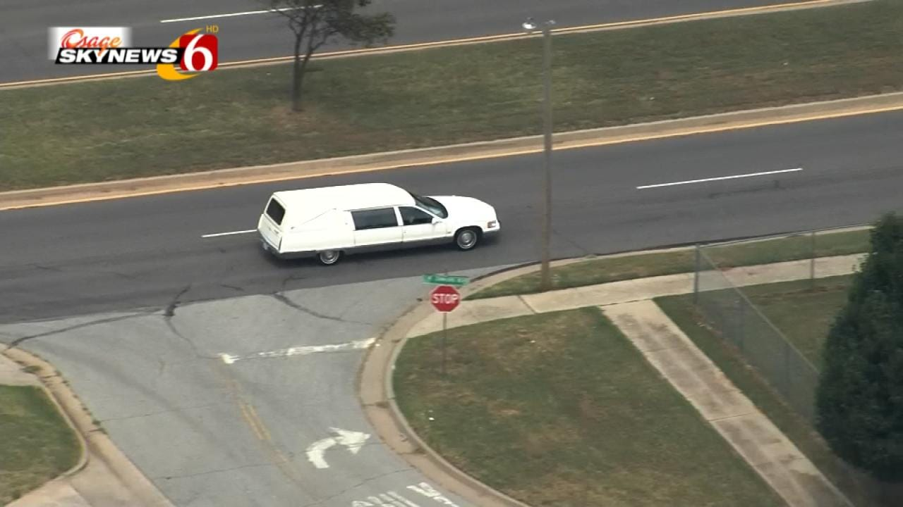 Procession Brings Officer's Body Home To Sapulpa