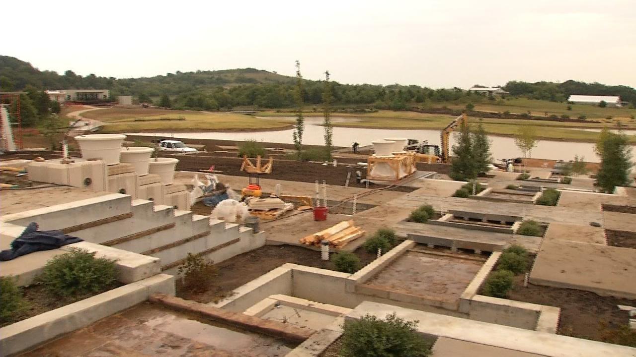 Progress Being Made At Tulsa's Botanic Gardens