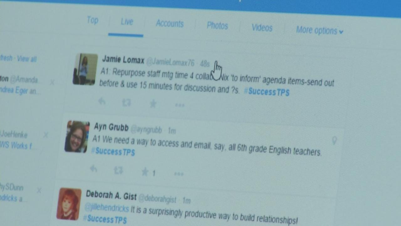 Superintendent Encourages Social Media To Further TPS Success