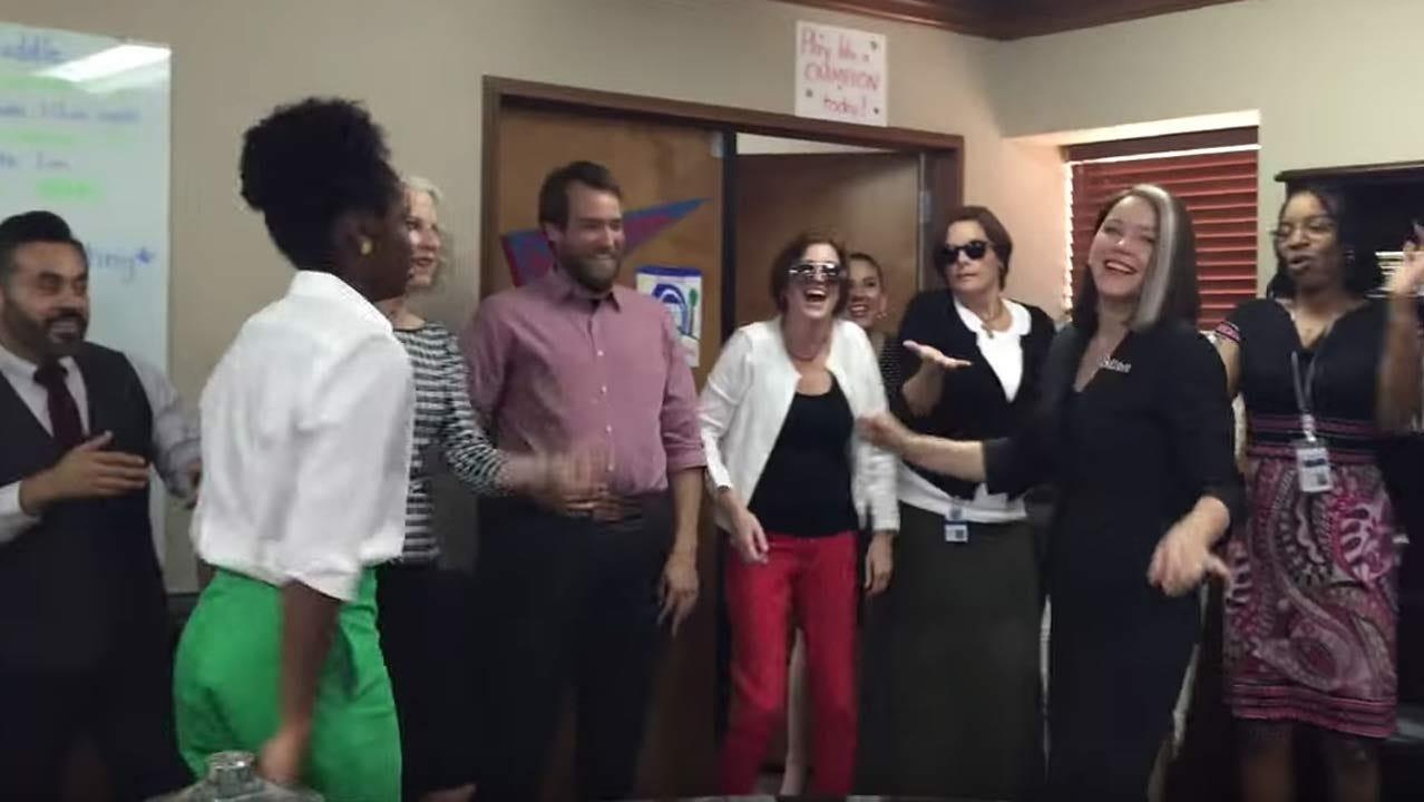 Tulsa Public Schools Superintendent Leads 'Nae Nae' Dance
