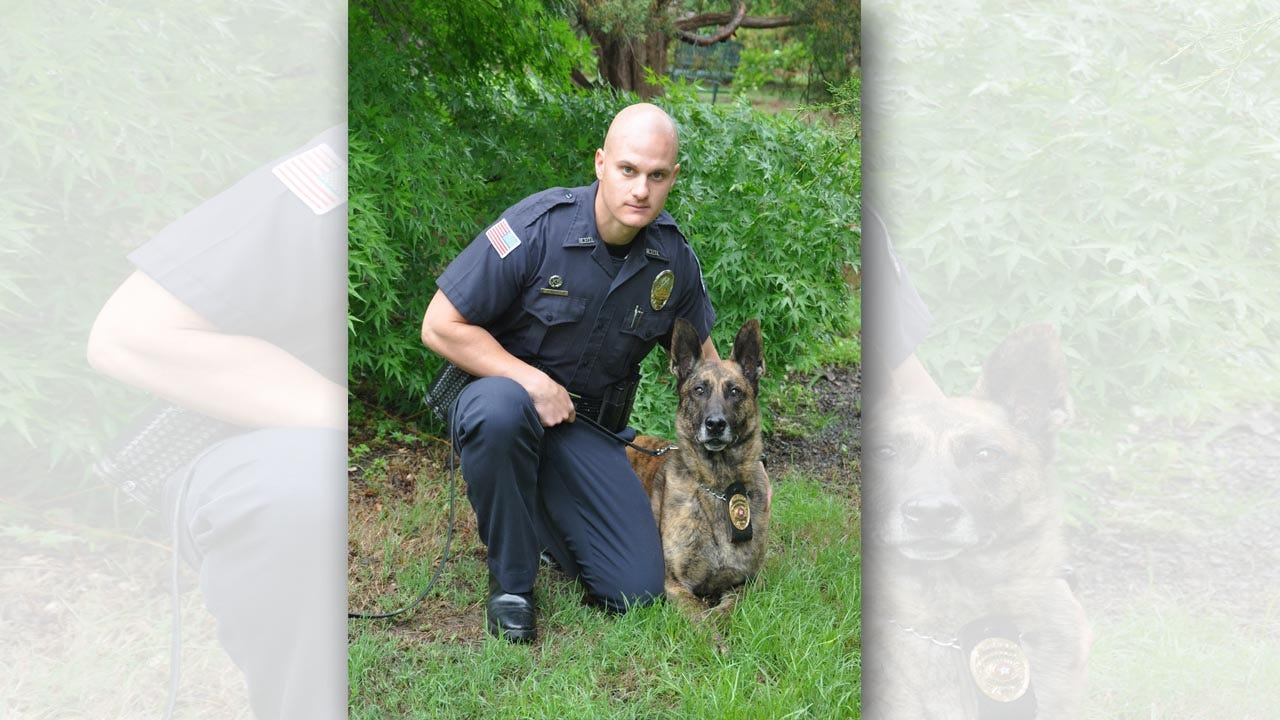 10-Year K9 Officer Medically Retires From Muskogee Police Force
