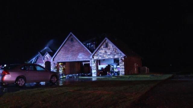 Lightning Strike Sparks Skiatook House Fire