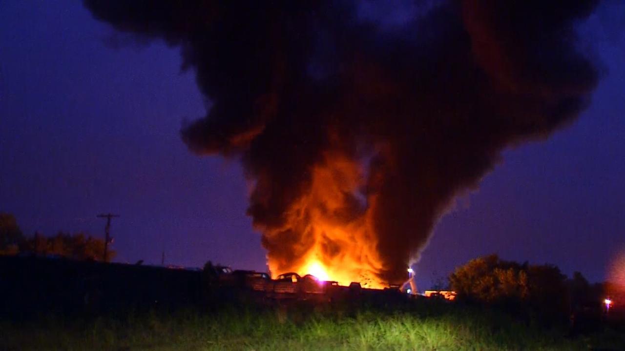Lightning Strikes Spark Fires In Owasso, Skiatook, And Owasso Fires