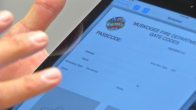 Chief: iPads To Help Muskogee Firefighters Respond Faster, Smarter
