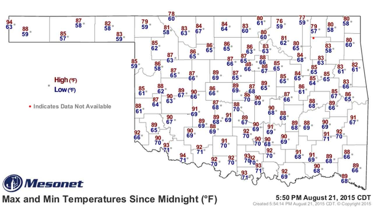 Dick Faurot's Weather Blog: Chance Of Weekend Storms And Warmer