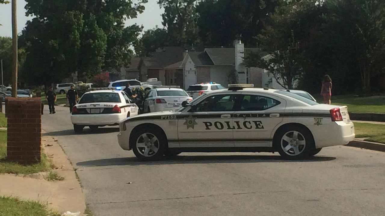 Police Investigating Drive-By Shooting In Tulsa Neighborhood