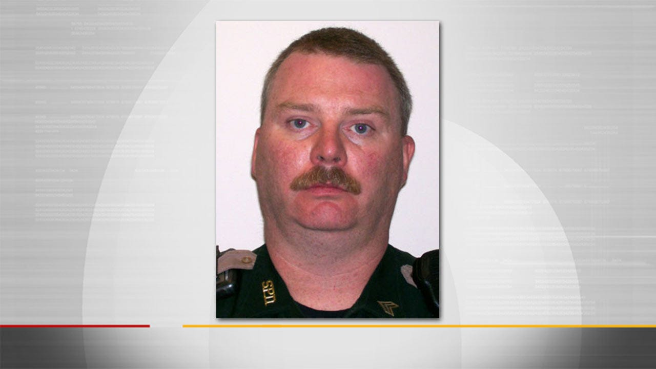 Sapulpa Officer Posthumously Promoted At Funeral Service