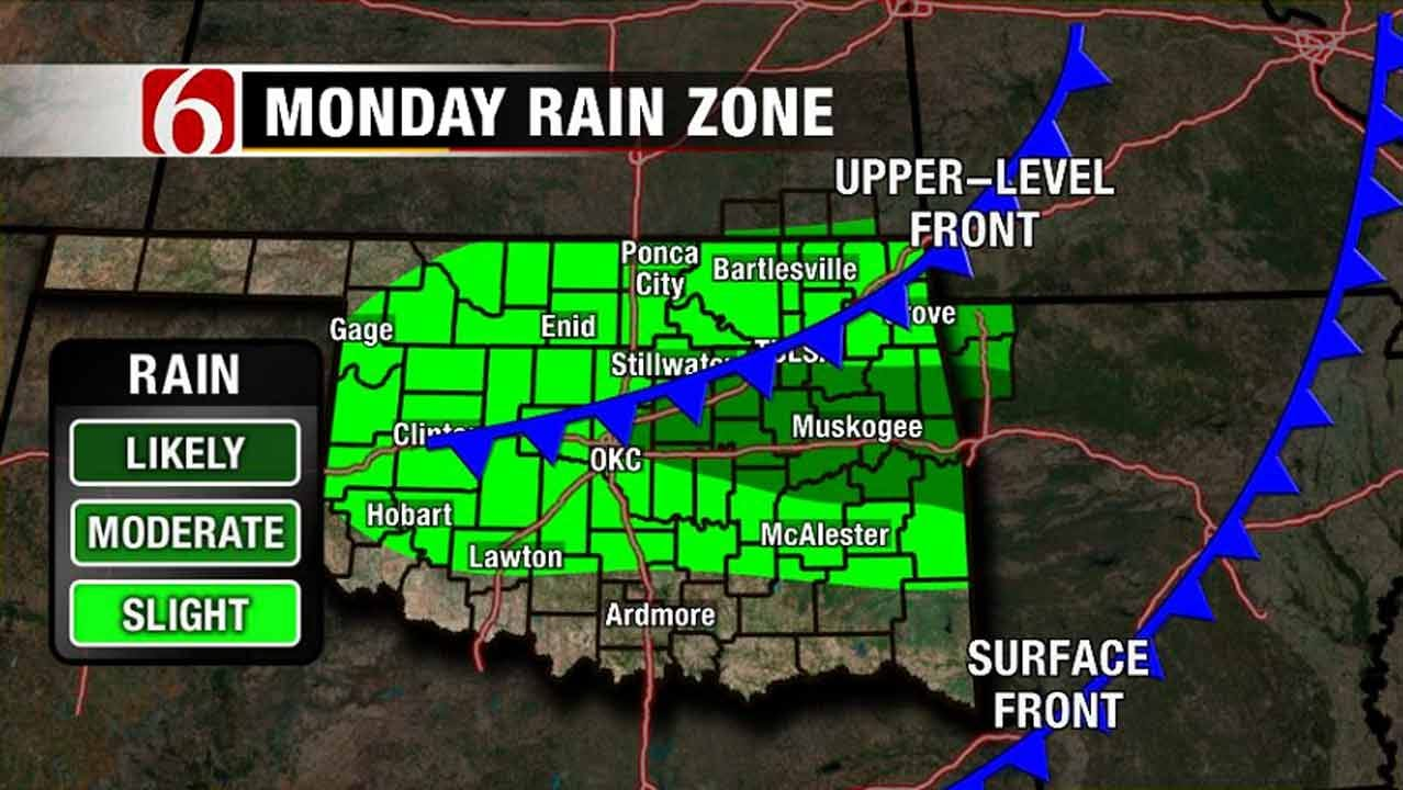 Cooler Temps With More Storms Possible In NE Oklahoma