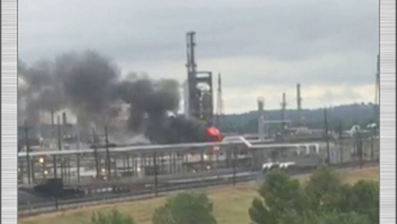 Fire Breaks Out At HollyFrontier Refinery In Tulsa