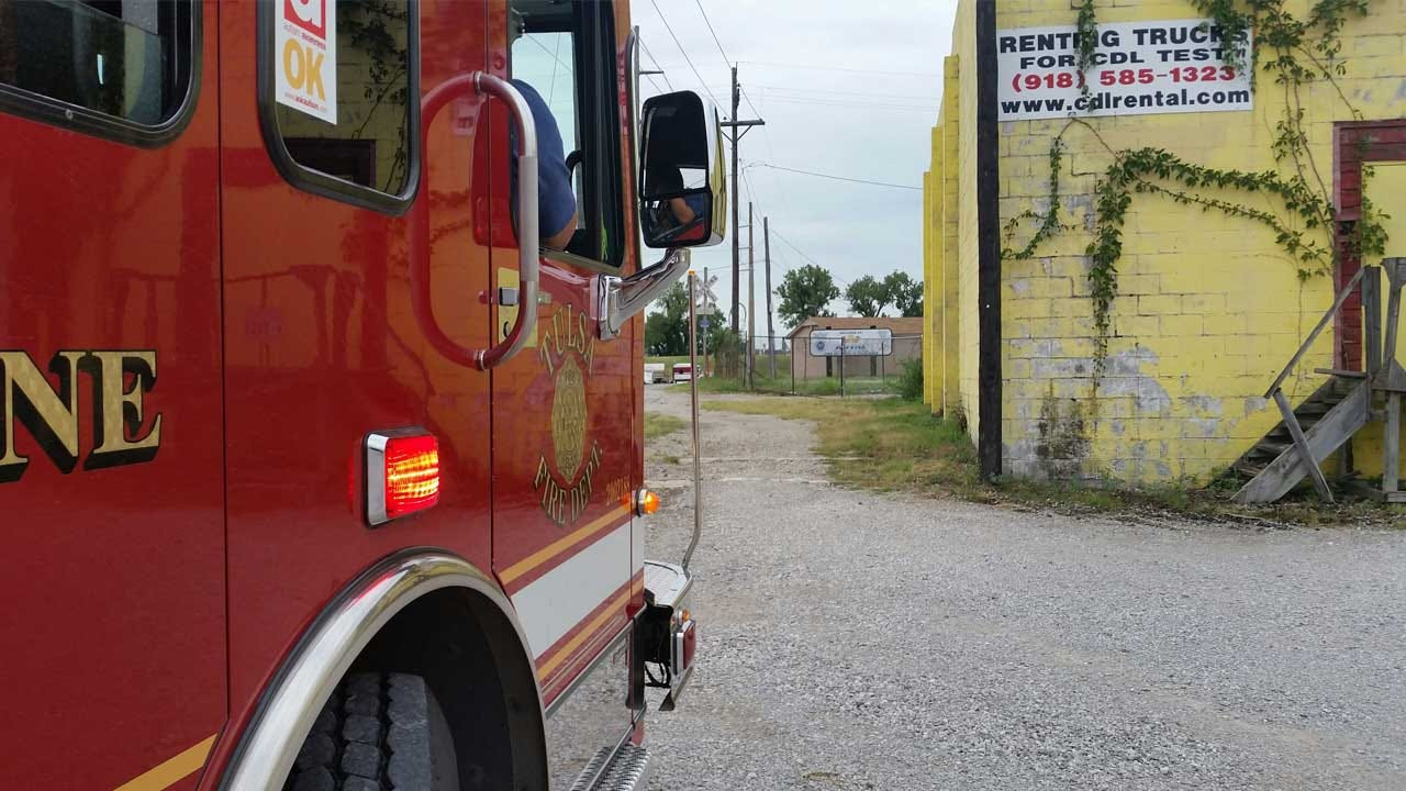 Tulsa Fire Department Stops Chemical Leak At Business