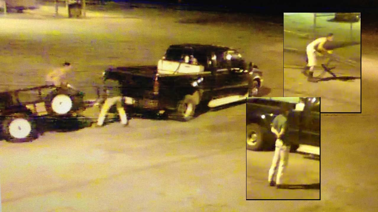 Two Men Sought In Claremore Trailer Theft