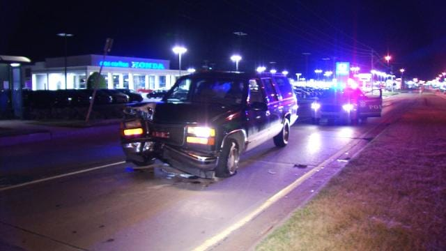Drivers Arrested In Two Tulsa DUI Crashes
