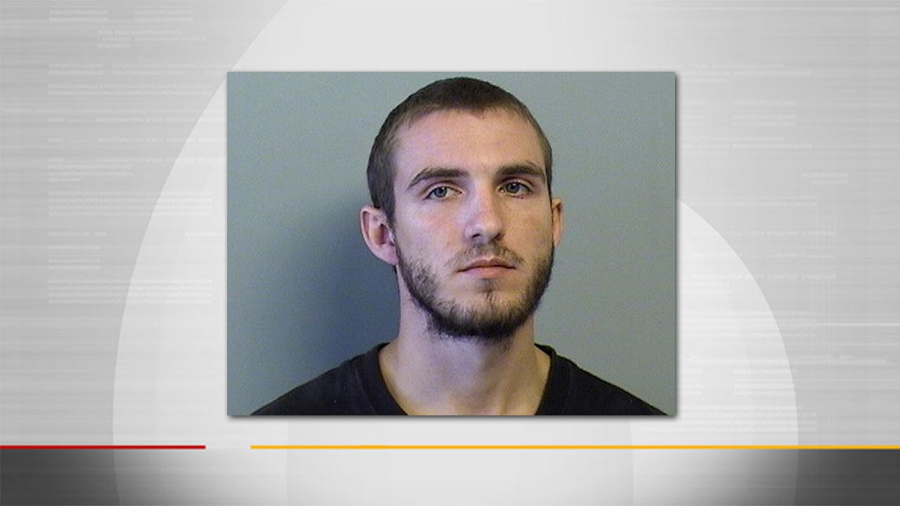 Man Charged With Owasso Baby's Death Booked Into Tulsa Jail