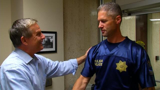 6 In The Morning Anchor, TPD Officer Reunite 10 Years After Katrina