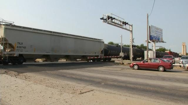 Claremore Drivers Delayed 3 Hours A Day By Trains, Study Shows