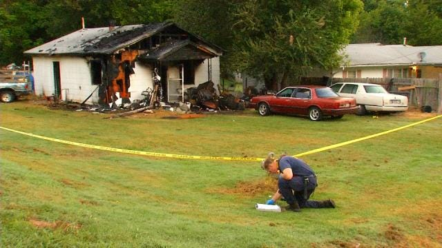 Elderly Couple Die In 'Scary' Sand Springs House Fire
