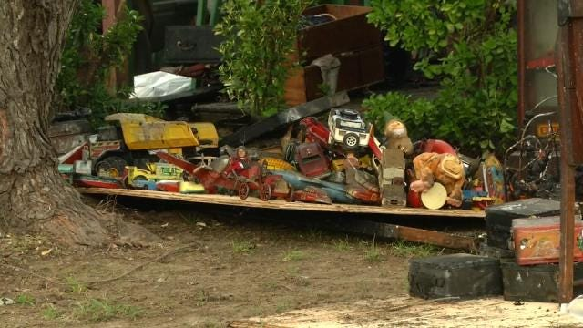 Fire Destroys Catoosa Man's Home, Antique Collection
