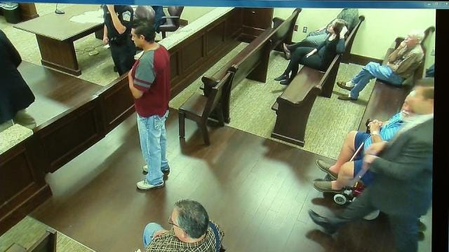 Rogers County Man's Bolt From Courthouse Lands Him In Jail