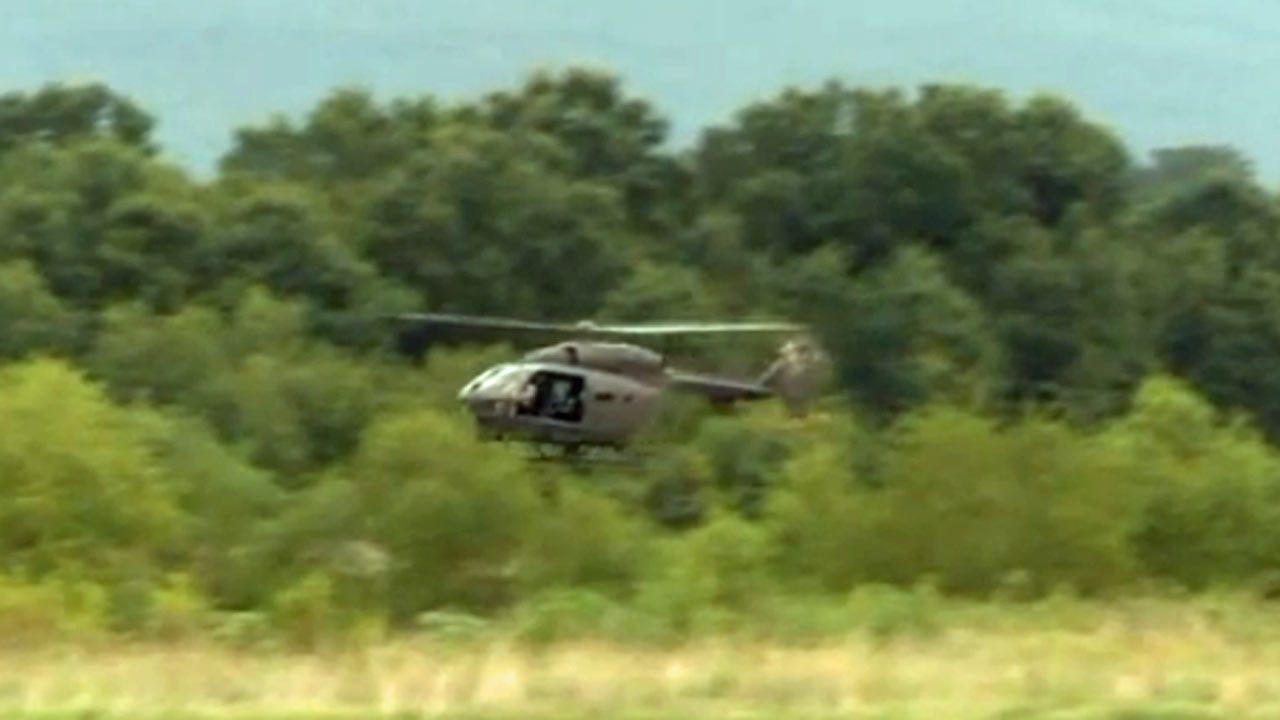 Drug Agents Look For Oklahoma Marijuana Plants From Above