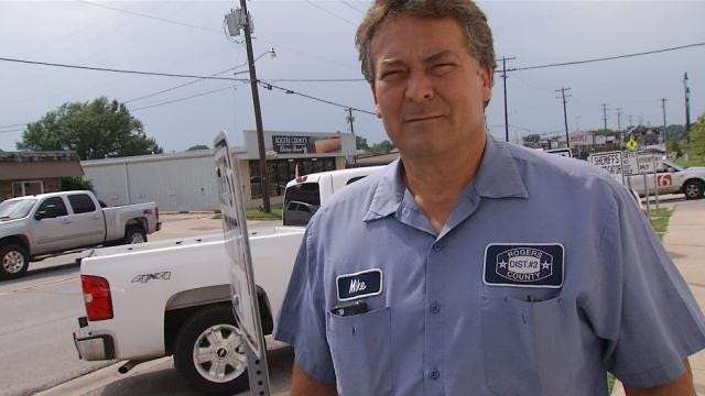 Rogers County Commissioner Surrenders On New Indictments