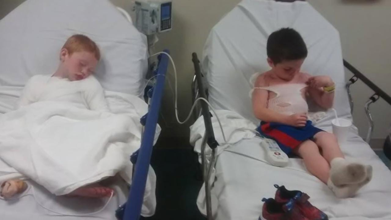 Lotion Applied To Sunburned Vinita Boys Came From Daycare, Grandmother Says