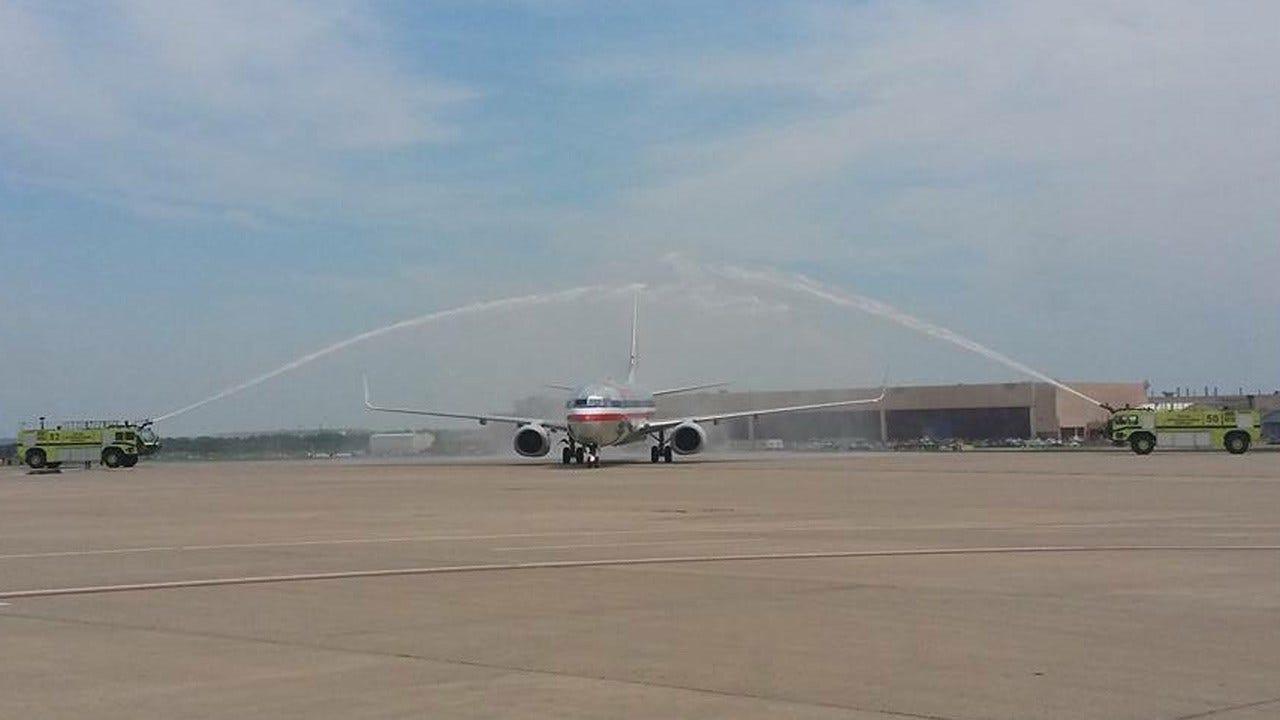 Special Olympians Get Big Salute Returning To Tulsa