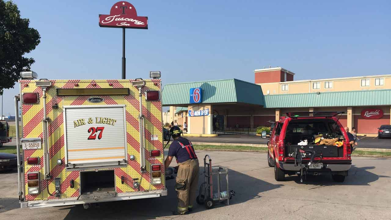 Man At Tulsa Motel Wakes To Room Filled With Smoke